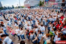 Флэшмоб посвященный дню России